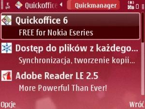 Atualizacao QuickOffice E71